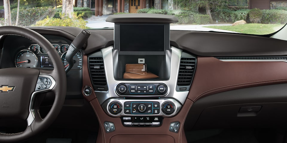 2020 Chevrolet Tahoe Full-Size SUV hidden lockable storage compartment