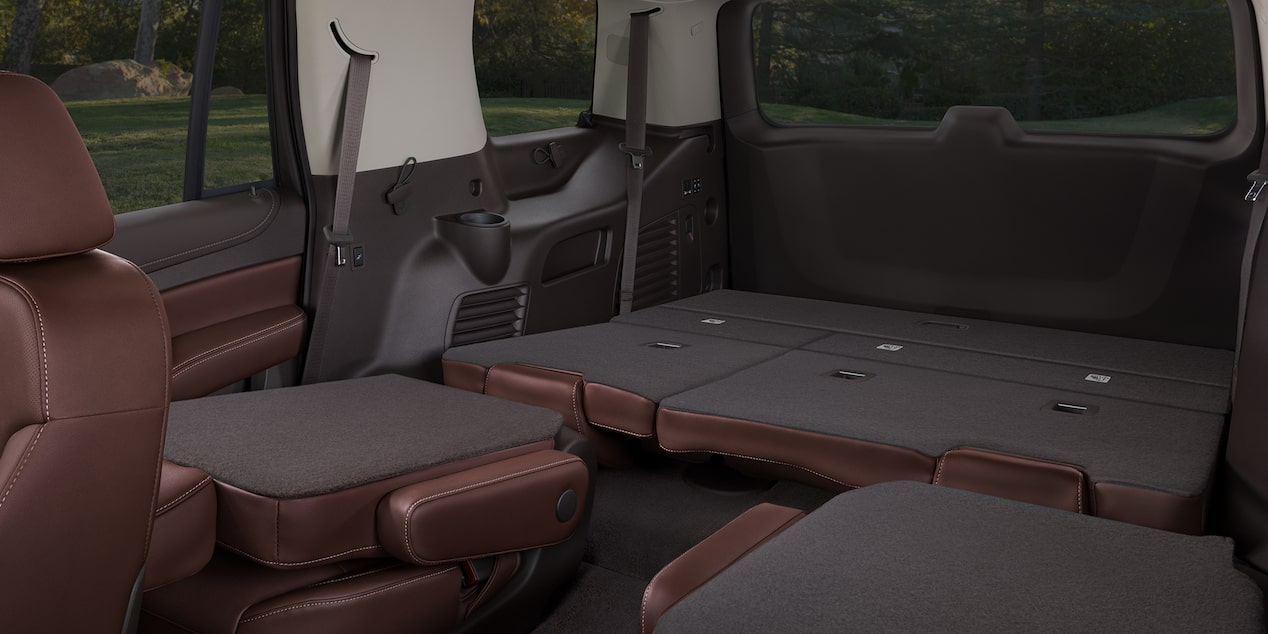 2020 Chevrolet Tahoe Full-Size SUV rear fold down seats