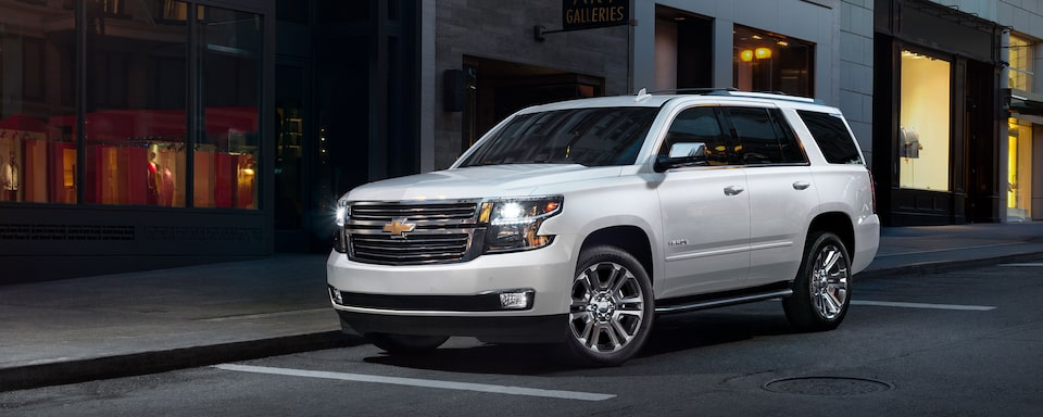 2020 Chevrolet Tahoe Full-Size SUV Front Side Exterior
