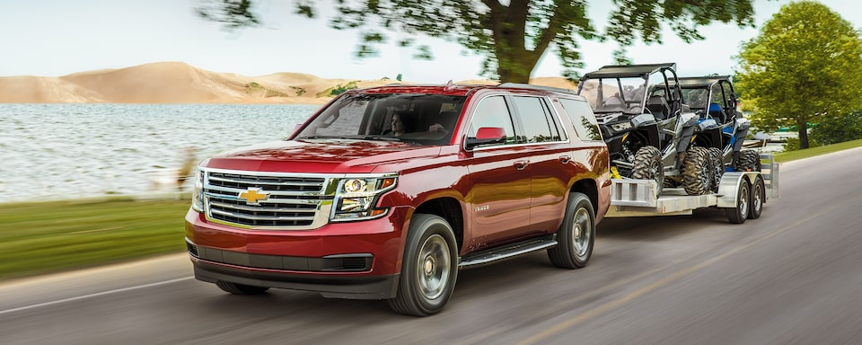 2020 Chevrolet Tahoe Full-Size SUV Towing