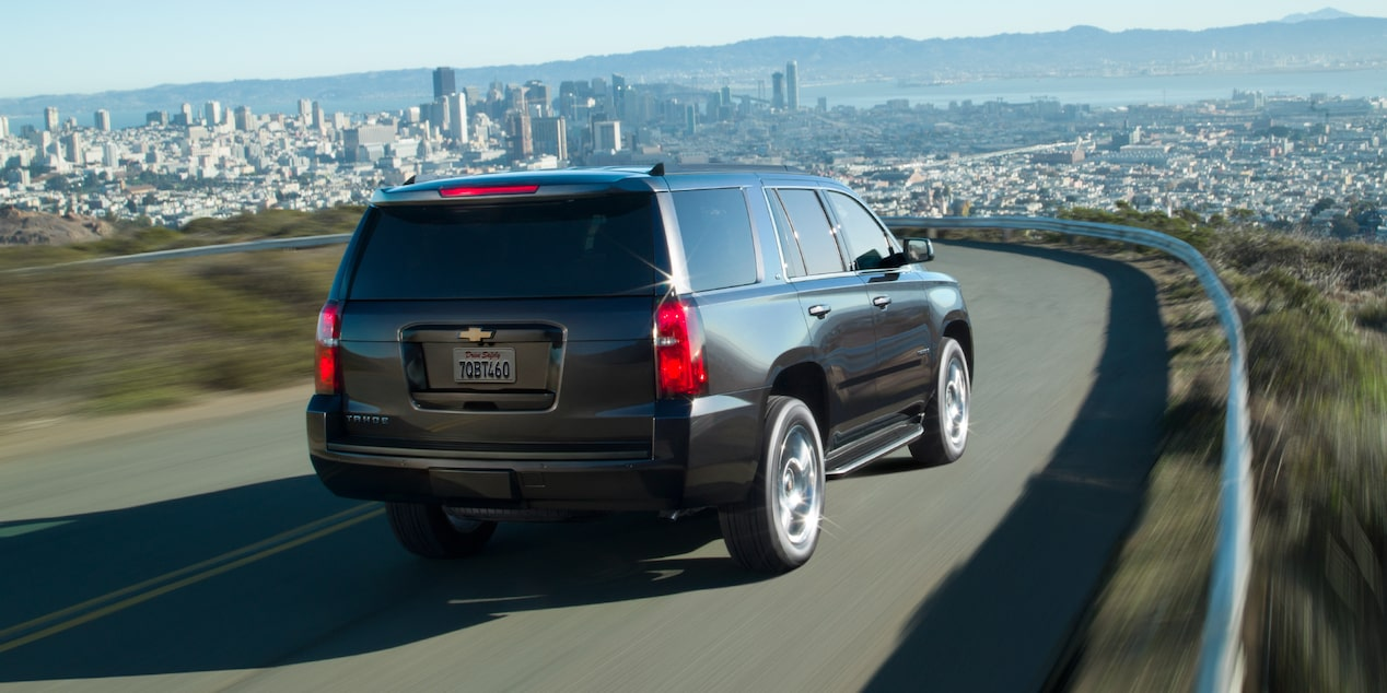 2020 Chevrolet Tahoe Full-Size SUV rear passenger side exterior