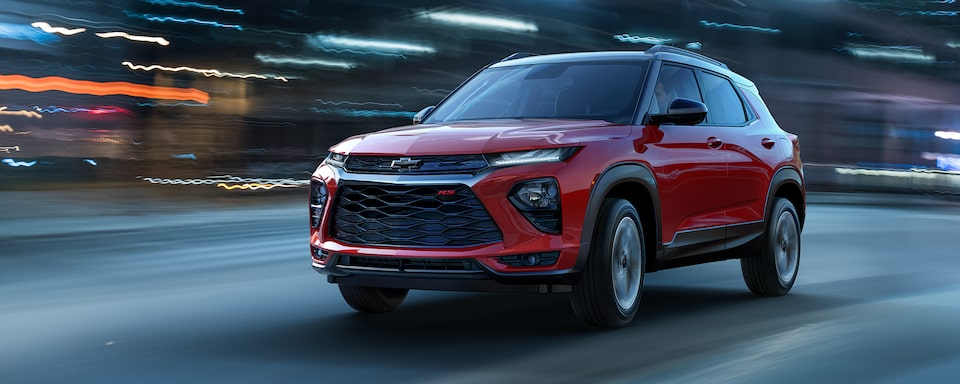 All-New 2021 Chevy Trailblazer: New Small SUV
