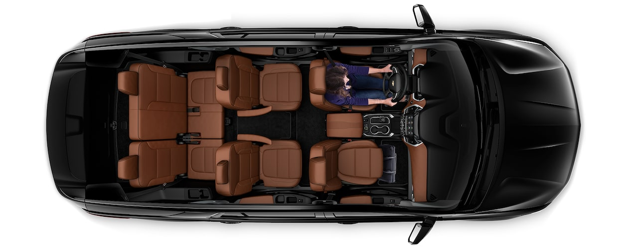 2020 Traverse Mid Size SUV Cargo: Seating