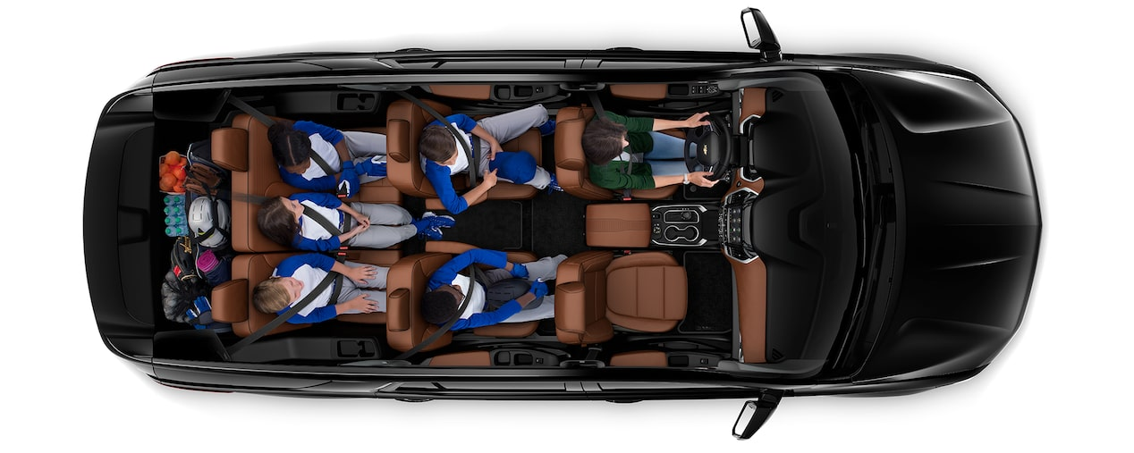 2020 Traverse Mid Size SUV Cargo: game day