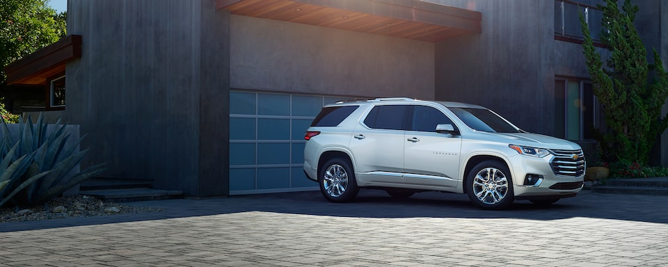 2020 Chevy Traverse Mid Size Suv 3 Row Suv
