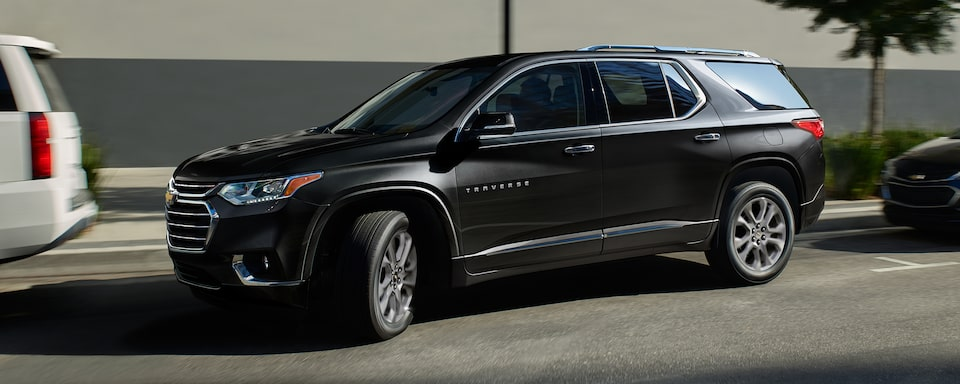 2020 Traverse Mid-Size SUV Safety: Side Profile