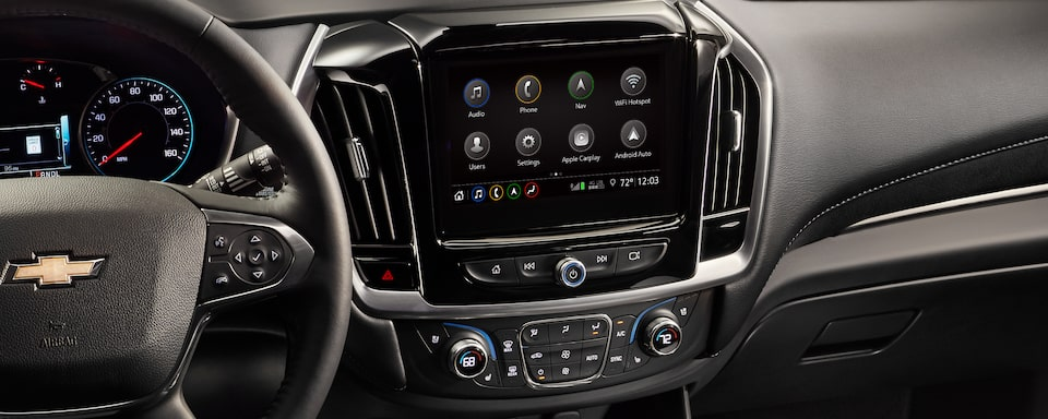2020 Chevrolet Traverse Mid-Size SUV Touch Screen