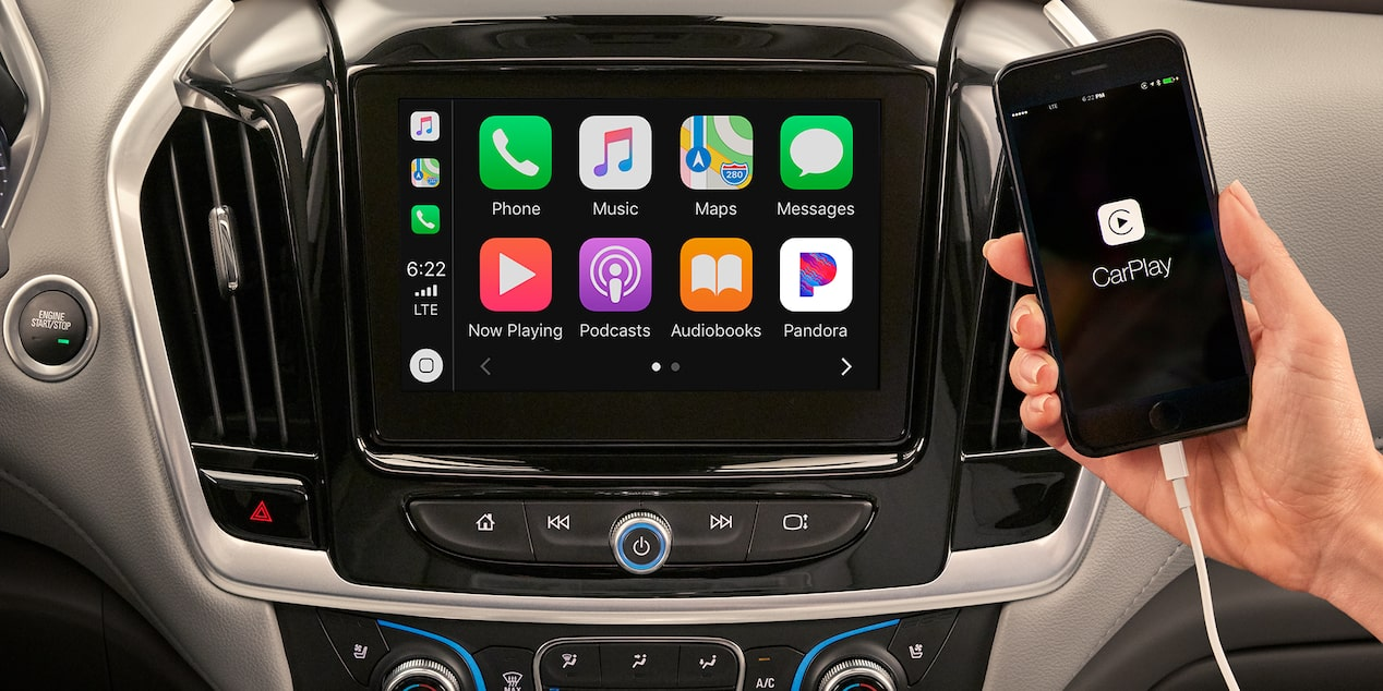 2020 Chevrolet Traverse Mid-Size SUV Apple Carplay