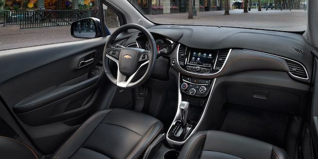 2020 Chevy Trax Compact SUV Interior Front Cabin