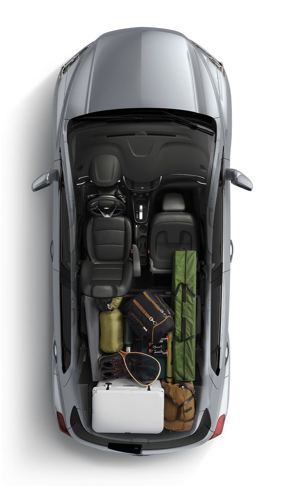 2020 Chevy Trax Cargo Aerial View