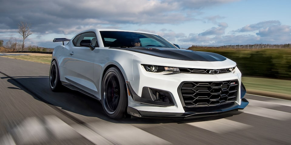 2020 Camaro ZL1: front grille