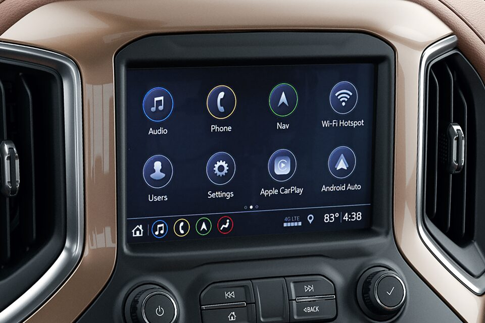 2020 Chevy All-New Silverado HD Truck: infotainment system