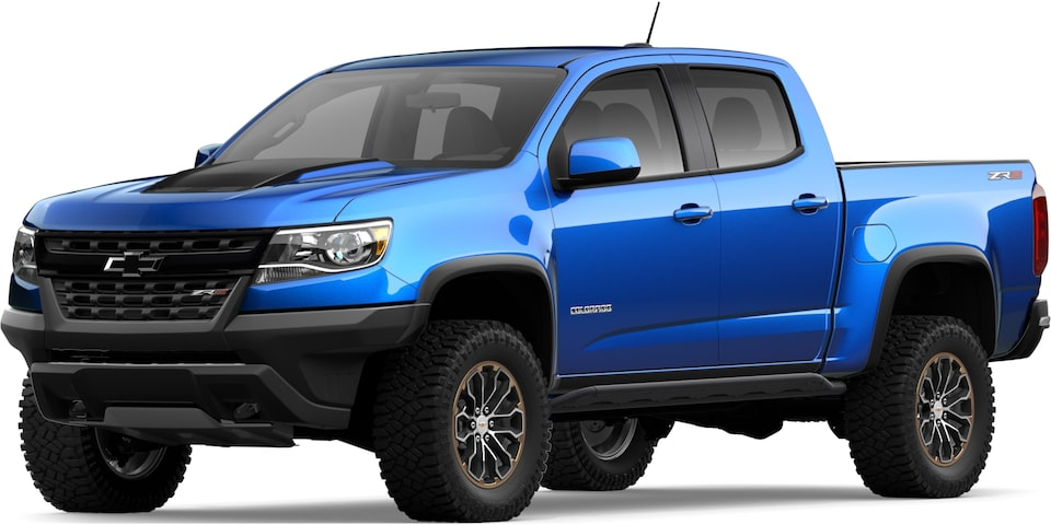 2020 Chevy Colorado Zr2 Off Road Mid Size Truck