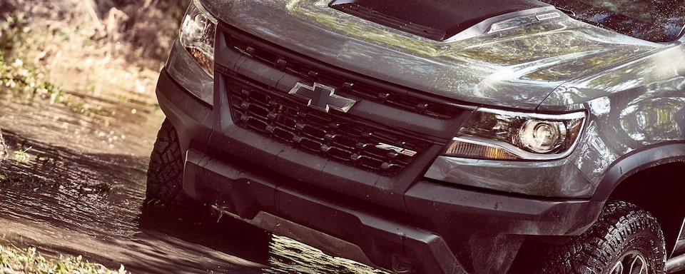 2020 Chevrolet Colorado ZR2 Off-Road Truck grille exterior close up