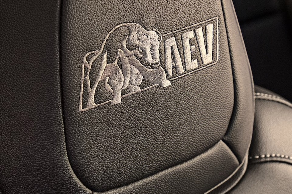 2020 Chevrolet Colorado ZR2 Bison Off-Road Truck seating badge