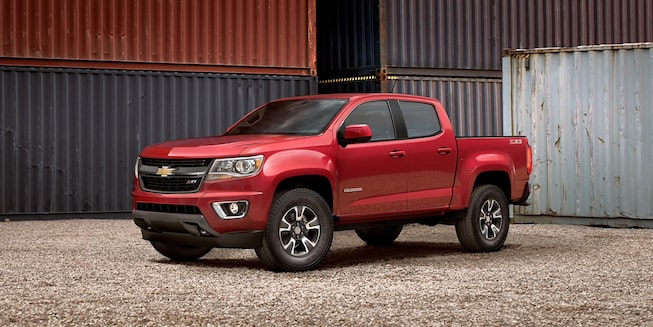 2020 Chevrolet Colorado Mid-Size Truck Driver Side Angle View