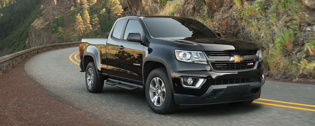 2020 Chevrolet Colorado Mid-Size Truck Side Profile