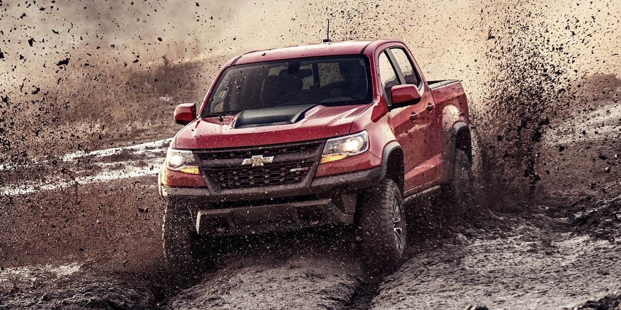 2020 Chevrolet Colorado ZR2 off-road