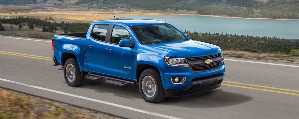 2020 Chevrolet Colorado Mid-Size Truck Passenger Side Exterior