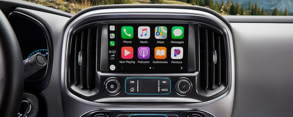 2020 Chevrolet Colorado Mid-Size Truck touch screen with Apple Carplay