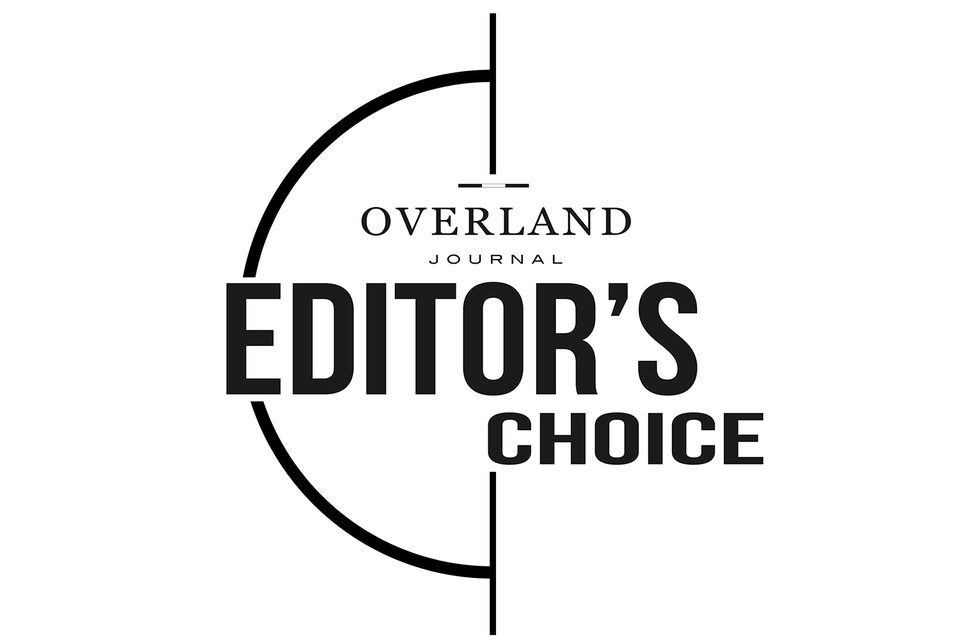 2020 Overland Journal Editor's Choice Award