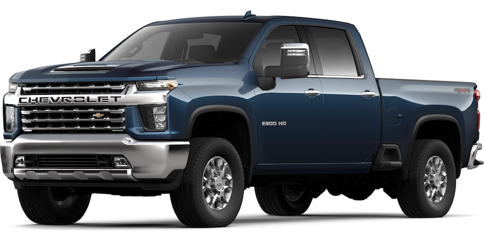 All-New 2020 Silverado 2500 HD & 3500 HD Heavy Duty Trucks