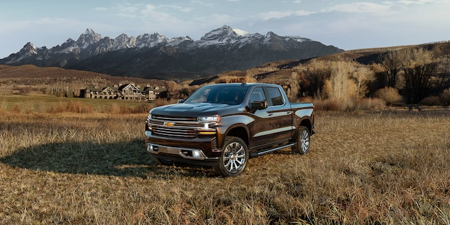 2020 Silverado 1500 Pickup Truck Exterior Front Side View