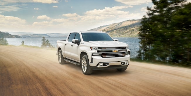 2020 Silverado 1500 Pickup Truck Exterior Off Road View
