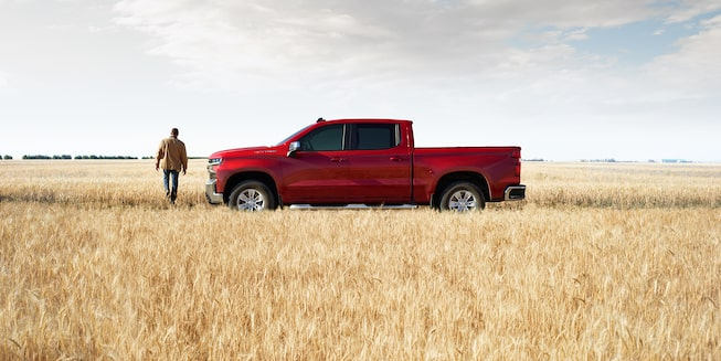 2020 Silverado 1500 Pickup Truck Exterior Side View