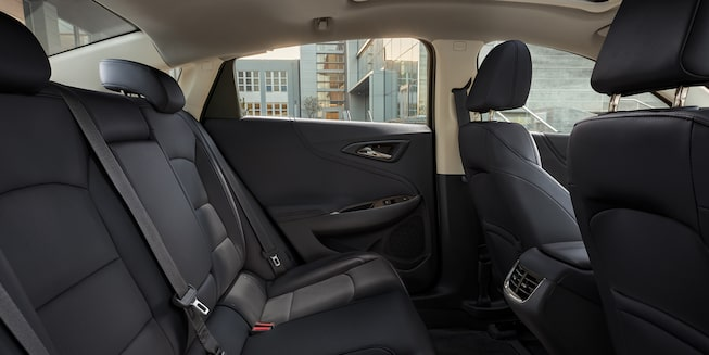 2021 Chevy Malibu Interior Photo: Rear Seats