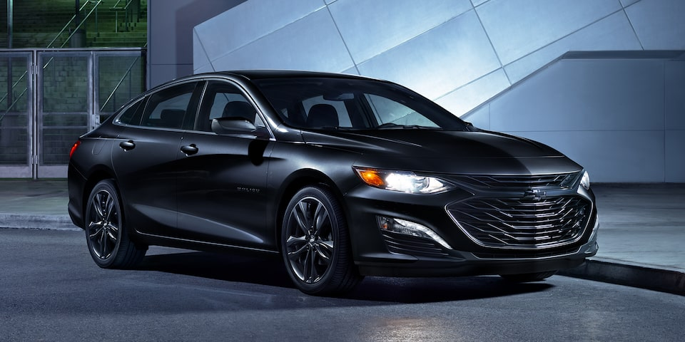 2021 Chevy Malibu Design: Midnight Edition