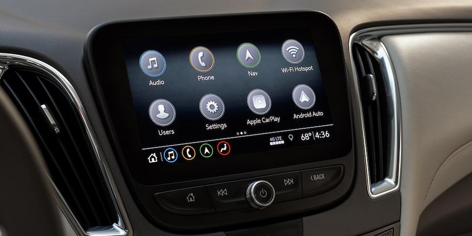 2021 Chevy Malibu Technology: Infotainment System