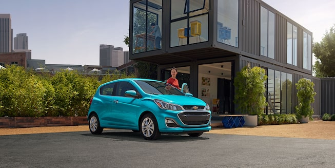 2021 Chevy Spark Exterior Photo: Side Angle