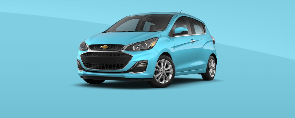 2021 Chevy Spark Colors: Mystic Blue