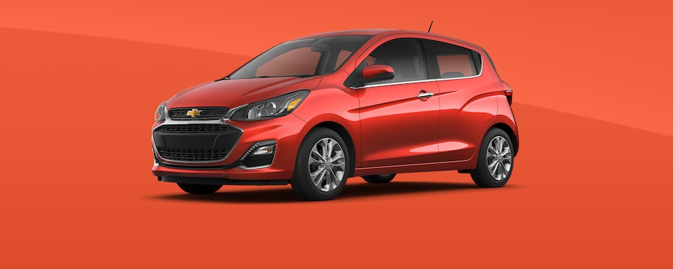 2021 Chevy Spark Colors: Cayenne Orange