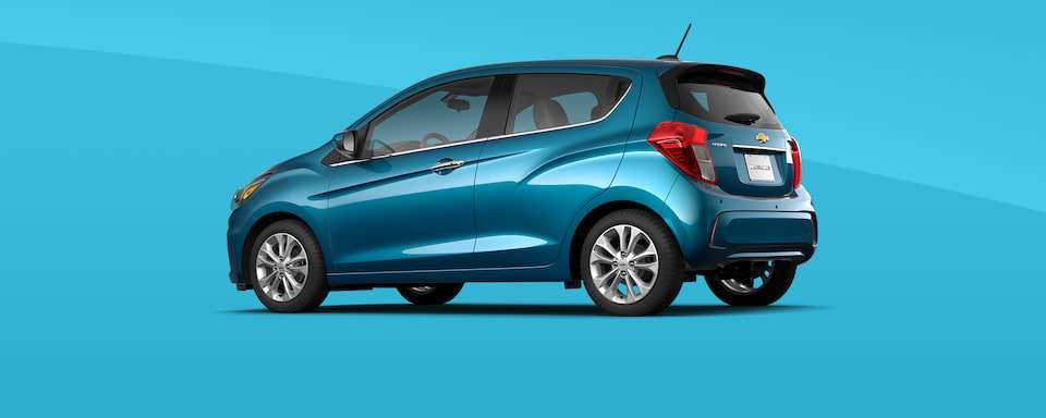 2021 Chevy Spark Colors: Caribbean Blue