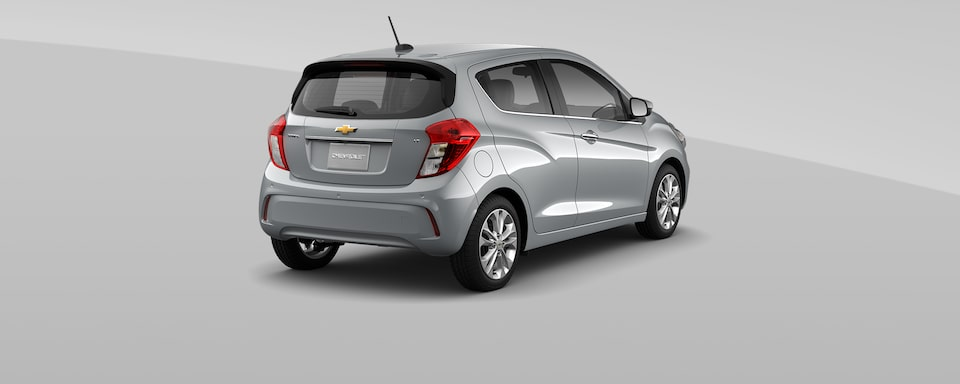 2021 Chevy Spark Colors: Silver Ice Metallic