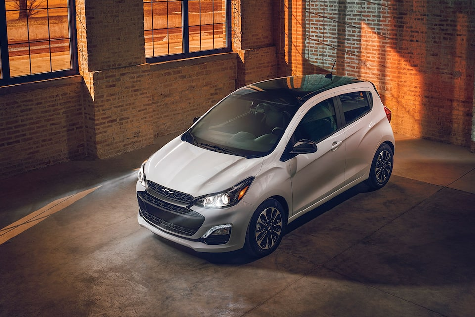 2021 Chevy Spark Special Edition: two-tone painted roof