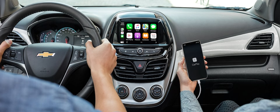 2021 Chevy Spark Apple Carplay Technology