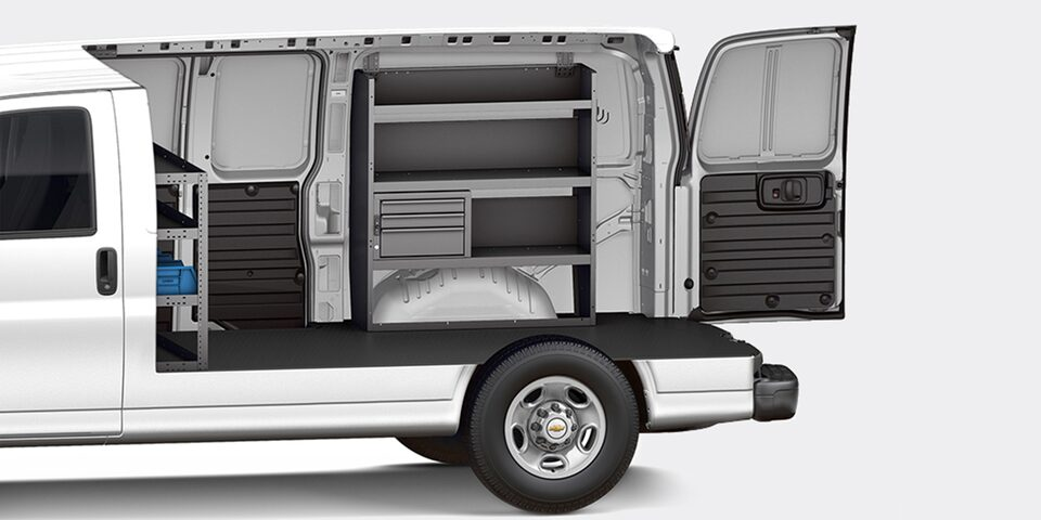 2021 Chevy Express Cargo Van Customization: Contractor
