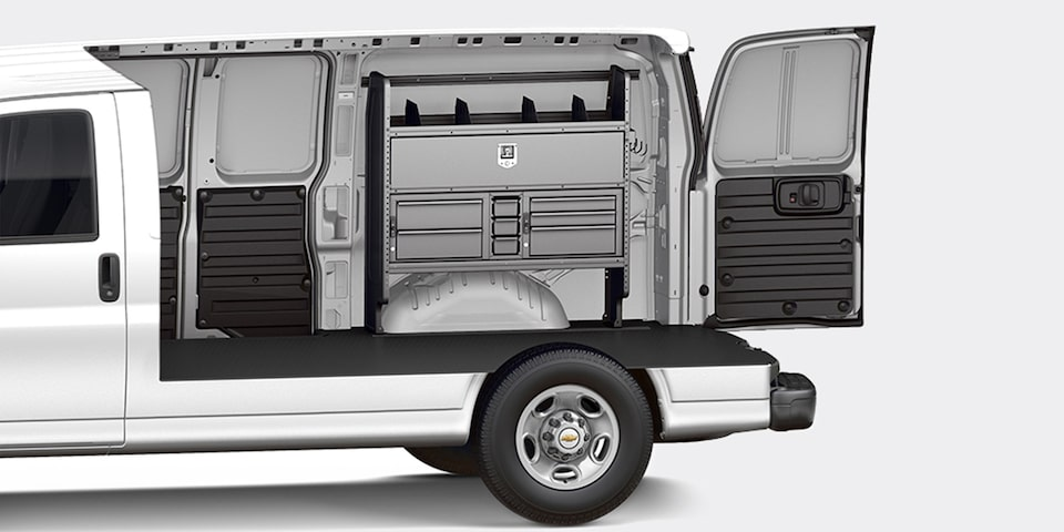 2021 Chevy Express Cargo Van Customization: Electrician