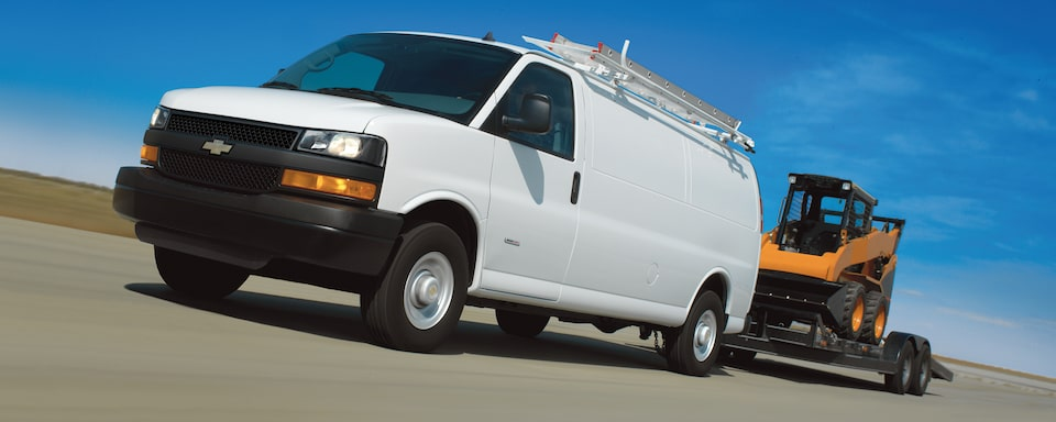 2021 Chevy Express Vans: Towing