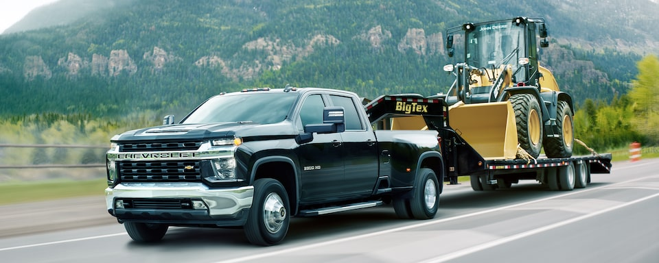 2021 Silverado HD Commercial Work Truck capability: Advanced towing