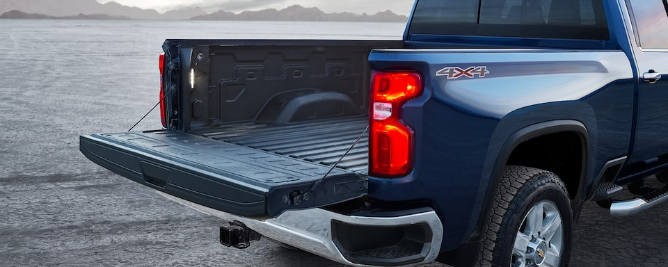 2021 Silverado HD Commercial Work Truck capability: Durabed
