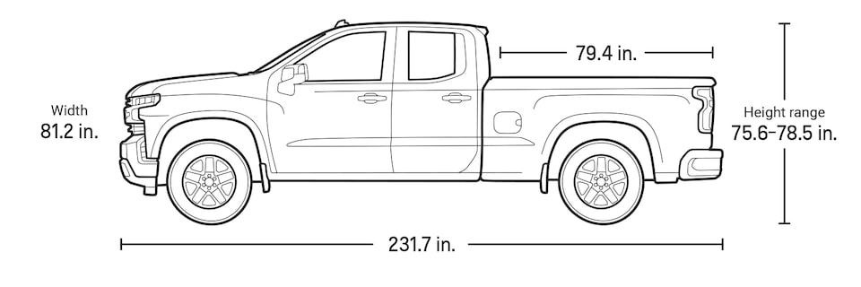 2021 Silverado LD Commercial Work Truck Double Cab Specs