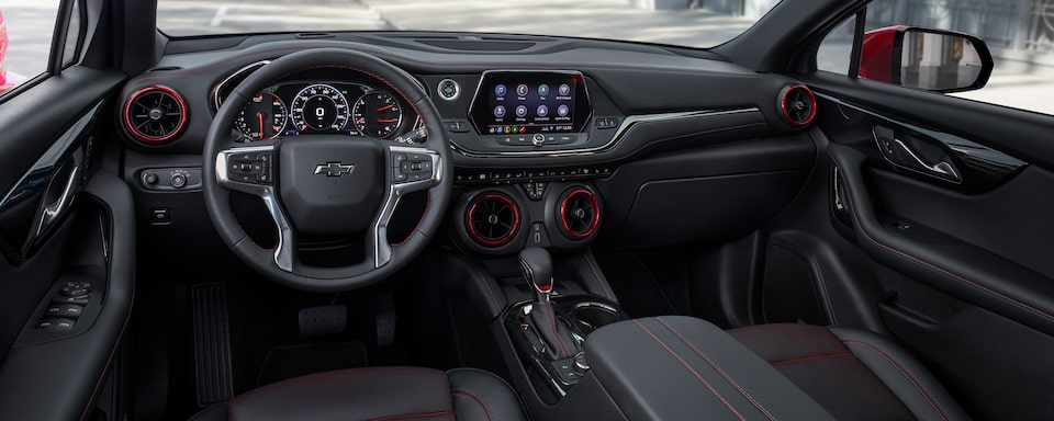 2020 Chevy Blazer Sporty SUV: interior dashboard