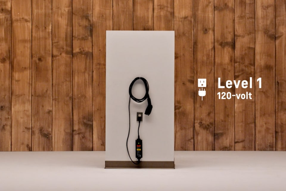 2021 Bolt EV Electric Car: Level 1 Charging Video