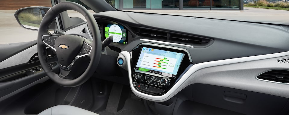 2021 Bolt EV Electric Car Design: Dashboard