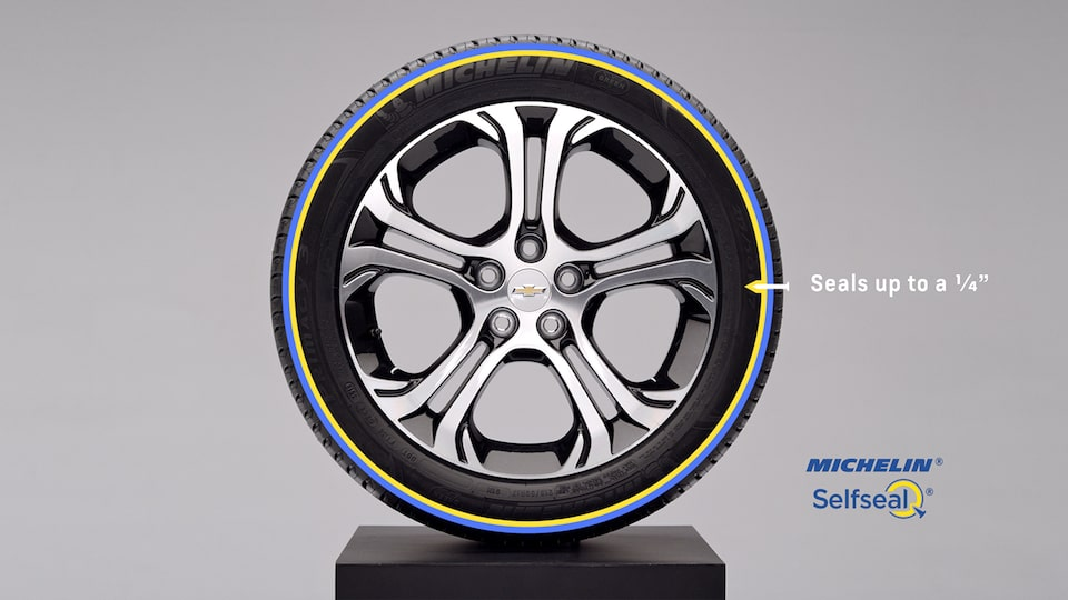 2021 Bolt EV MICHELIN Selfseal Tires Video