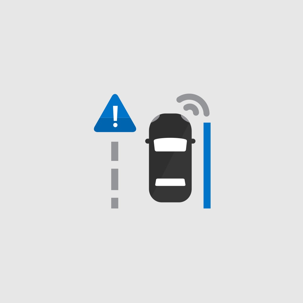 Lane Keep Assist Departure Warning Icon